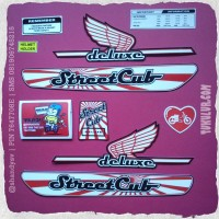 harga Stiker 1 Set Honda C70 | Streetcub - Retro Red| Rp.55.000,- Only Tokopedia.com