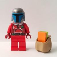 Jual Lego Minifigure Star Wars Jango Santa + Asesoris Murah