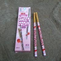 Pensil Serut Sweet Pocky Pink - Pensil Kayu - Alat Tulis