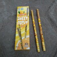 Pensil Serut Sweet Pocky Kuning - Pensil Kayu - Alat Tulis