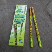 Pensil Serut Sweet Pocky Hijau - Pensil Kayu - Alat Tulis