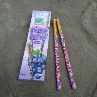 Pensil Serut Sweet Pocky Ungu - Pensil Kayu - Alat Tulis