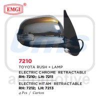 harga Spion Emgi Toyota Rush Krom Elektrik Lampu Lipat LH Tokopedia.com