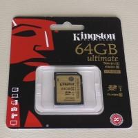 Memory SD Card Kingston 64GB Class 10 Ultimate (SDA10)