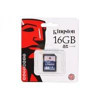 Memory SD Card Kingston 16GB Class 4 (SD4)