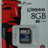 Memory SD Card Kingston 8GB Class 4 (SD4)