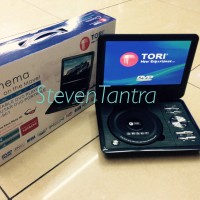 DVD Portable 10inch Tori TPD-901 (USB / MMC / NTSC-PAL / TFT Color / TV Tuner)