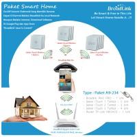PAKET SMART HOME BROADLINK : TYPE A9-234