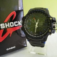 G shock new ga-1000 Hitam list biru