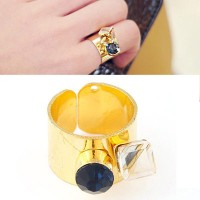 Cincin Korea Best Seller Ring Forever 21 gemstone decorated simple