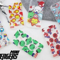 mini avengers jelly case samsung galaxy grand 1/2/prime s4/s5/core 2
