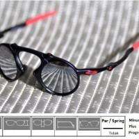 Kacamata Sunglass Oakley Madman Black Ferrari Mirror Polarized d387b27c4b