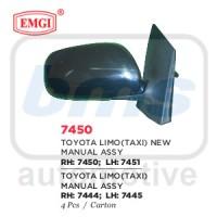 harga Spion Emgi Toyota Vios / Limo Taxi 2007 - 2013 Hitam Manual Rh Tokopedia.com