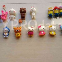 Jual Flashdisk Kartun Hello Kitty, Minion, Stitch, Brown, Cony, Eeyore, Tiger, Doraemon, dan karakter lain 4 GB Murah
