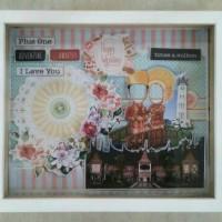 harga Frame Figura Scrapbook 3d Mahar (kosongan) Ukuran 25 X 30 Tokopedia.com