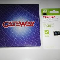 Gateway 3DS dan Memory 32GB Games bebas pilih