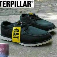 sepatu kerja sepatu semi boot caterpillar original china hitam