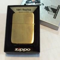1941B Brush Brass rep 1941 Zippo Original