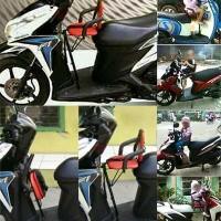 Kursi Bonceng Anak Jok Depan Sepeda Motor Matic Moped Bebek Manual