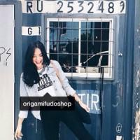 tumblr tee kaos t-shirt polos knit rajut crop