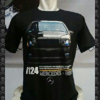 harga kaos distro rebell -mercedes benz w 124 Tokopedia.com