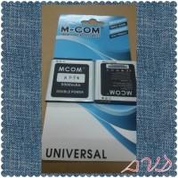 Baterai Hp Evercoss Type A5p* Double Power Merk M Com
