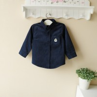 Baju Anak - Mom and Bab Shirt Navy (MB-021A)