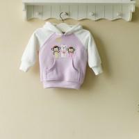 Baju Anak - Mom and Bab Hoodie Monkey (MB-023C)