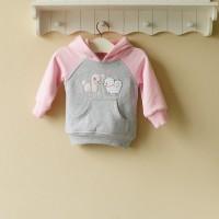 Baju Anak - Mom and Bab Hoodie Poodle (MB-023B)