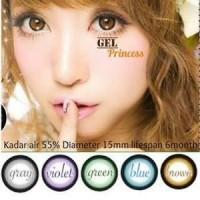 Softlens Gel PRINCESS / Soft Lens Gel PRINCESS DIA 15 MADE IN KOREA