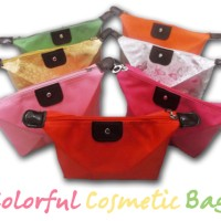 COLORFUL COSMETIC BAG TAS KOSMETIK MURAH ANEKA WARNA ORGANIZER UNIK CA