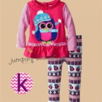 Baju stelan anak import fashion Jumping Beans sz 3, 4y, kode JB 9K