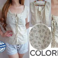 Colorbox Chrysant Babydoll Top
