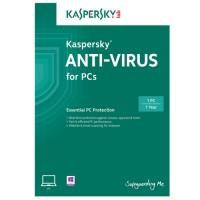 Kaspersky Anti Virus 1 user for 1 year