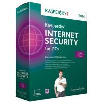 Kaspersky Internet Security 3 user for 1 year