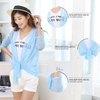 Transparent UV Cardigan / Baju Anti Matahari UV Protection Anti Panas