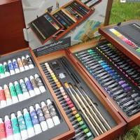 Artist Painting Set / Cat Air / Crayon / Spidol / Cat Minyak