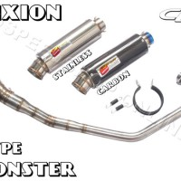 harga Knalpot Cld Racing Vixion/new Vixion Type Monster Silencer Stainless Tokopedia.com