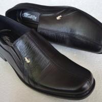 Sepatu Pantofel Pria Crocodile Kulit Asli Model 007 murah berkualitas