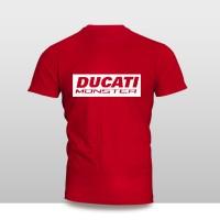 Kaos Baju Pakaian Otomotif Motor Ducati Monster Murah