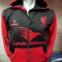 harga Jaket/hoodie/sweater Liverpool Prematch Garuda Merah Tokopedia.com