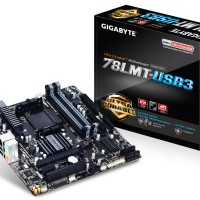 Gigabyte GA-78LMT-USB3 (AM3, AMD 760G, DDR3) RESMI