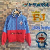 Grosir Murah Jaket Sweater Lonceng Doraemon Babyterry