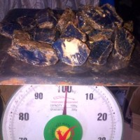 AMBER Blue 100% natural