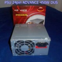 Power Supplay Komputer / Power Supplay PC / PSU 24pin ADVANCE 450W