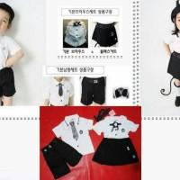 harga Aida Uniform Black Boy Baju Couple Kembaran Anak Tokopedia.com