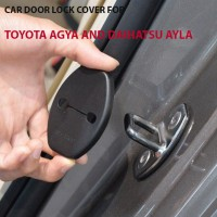 Car door lock cover for Toyota Agya, Daihatsu Ayla