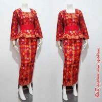 Rok Dan Blus Peplum New Syahrini,setelan Kerja,batik Murah,baju Wanita
