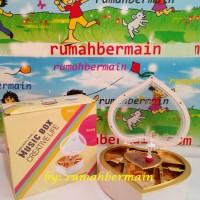 harga Kotak Musik Bentuk Love Ballerina (putih) - Music Box Kotak Perhiasan Tokopedia.com