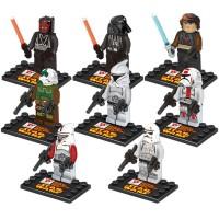 Lego Murah merk Dargo Mini Figure Star Wars isi 8